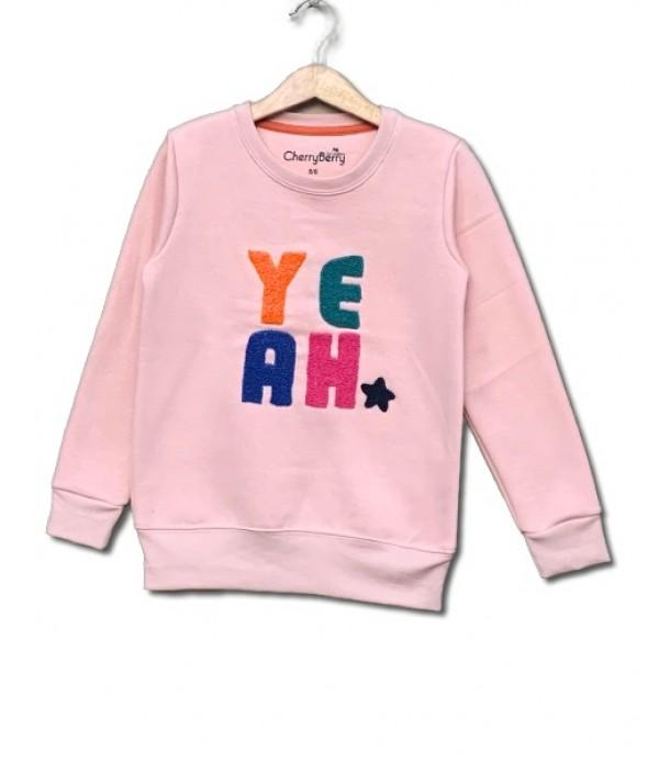 Yeah Embroider sweatshirt