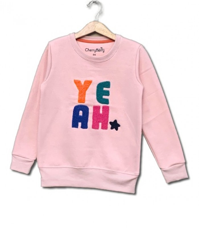 Yeah Embroider sweatshirt