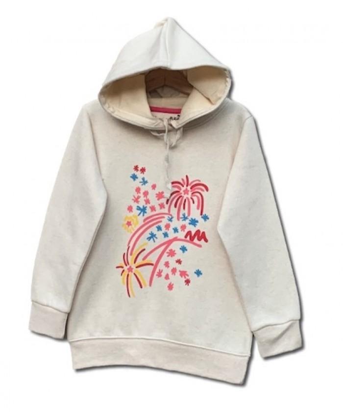 Girls Printed hoodie