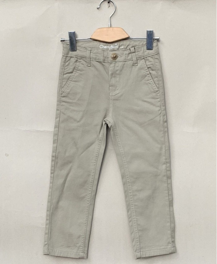 Boys Cotton Trouser