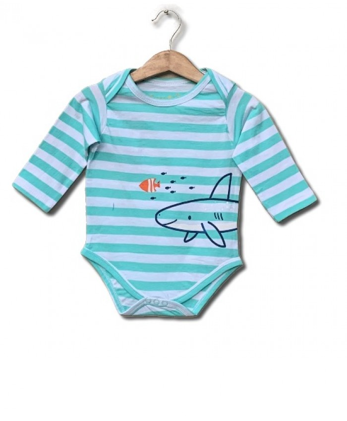 fish strips bodysuit