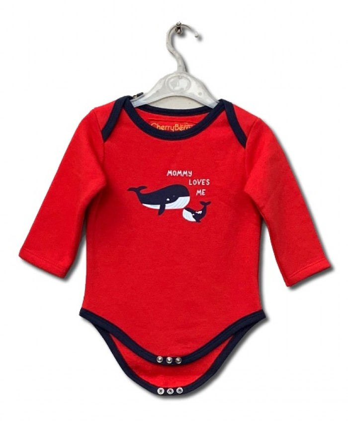 Fleece fish bodysuit