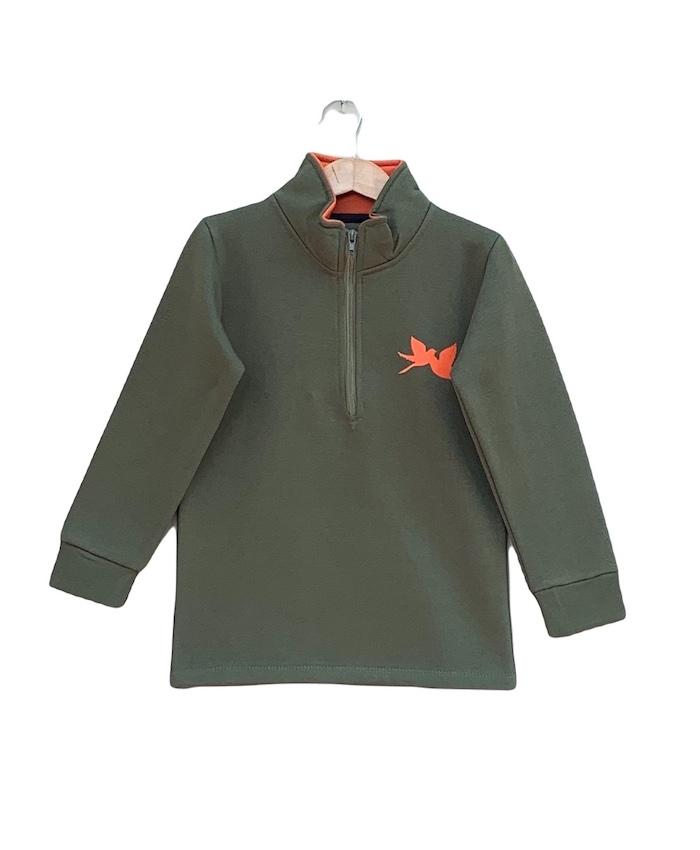 half zipper Fleece jacket