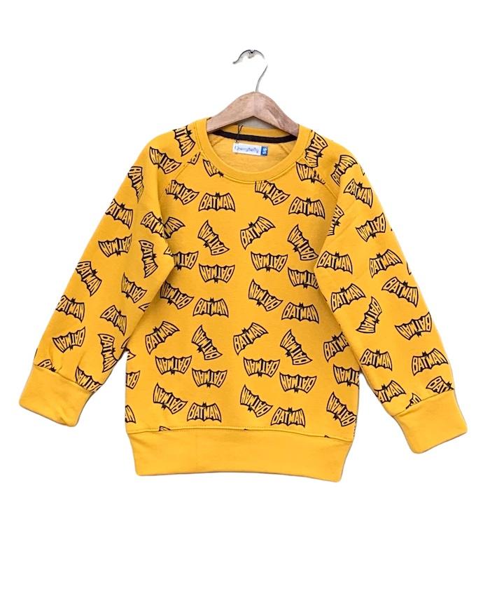 allover carton printed Sweatshirt