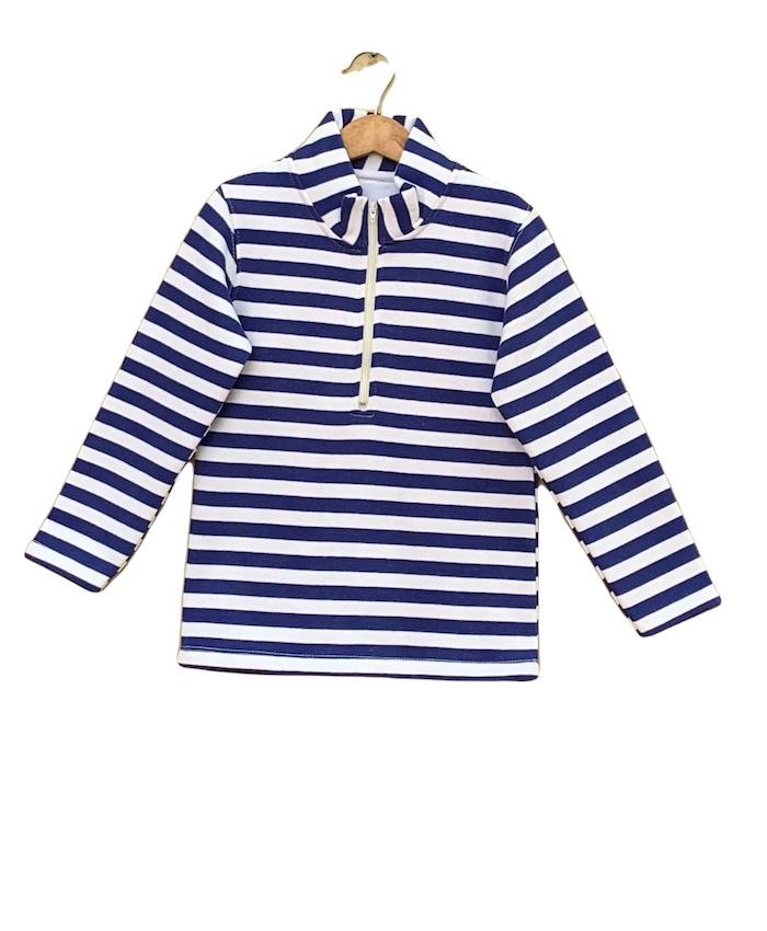 Strips Fleece T-shirt