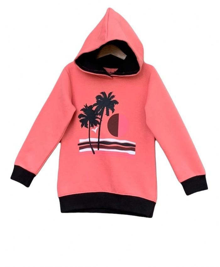 unisex printed hoodie