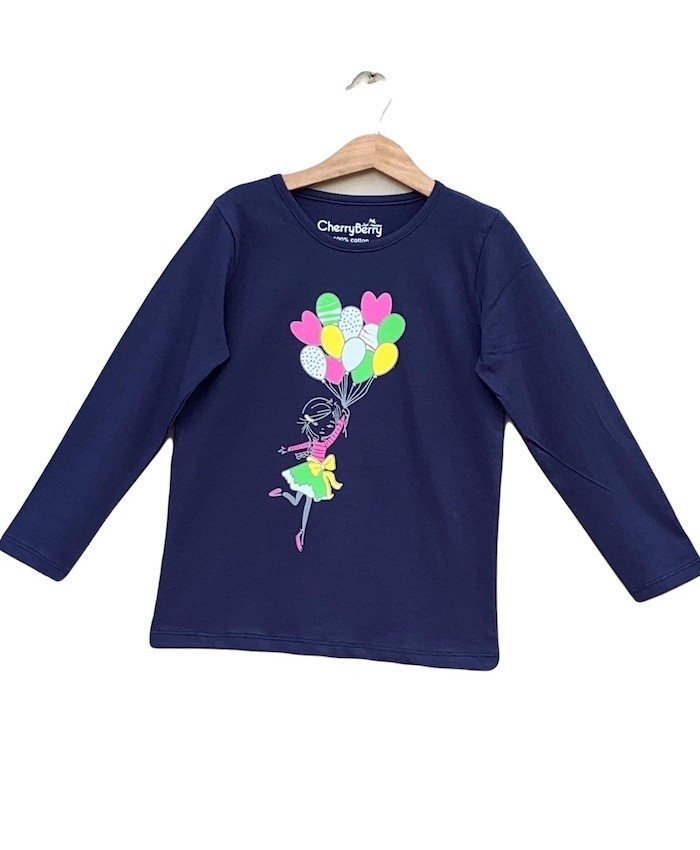 balloon girl T-shirt