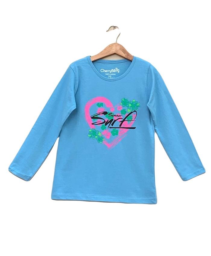 surf printed T-shirt